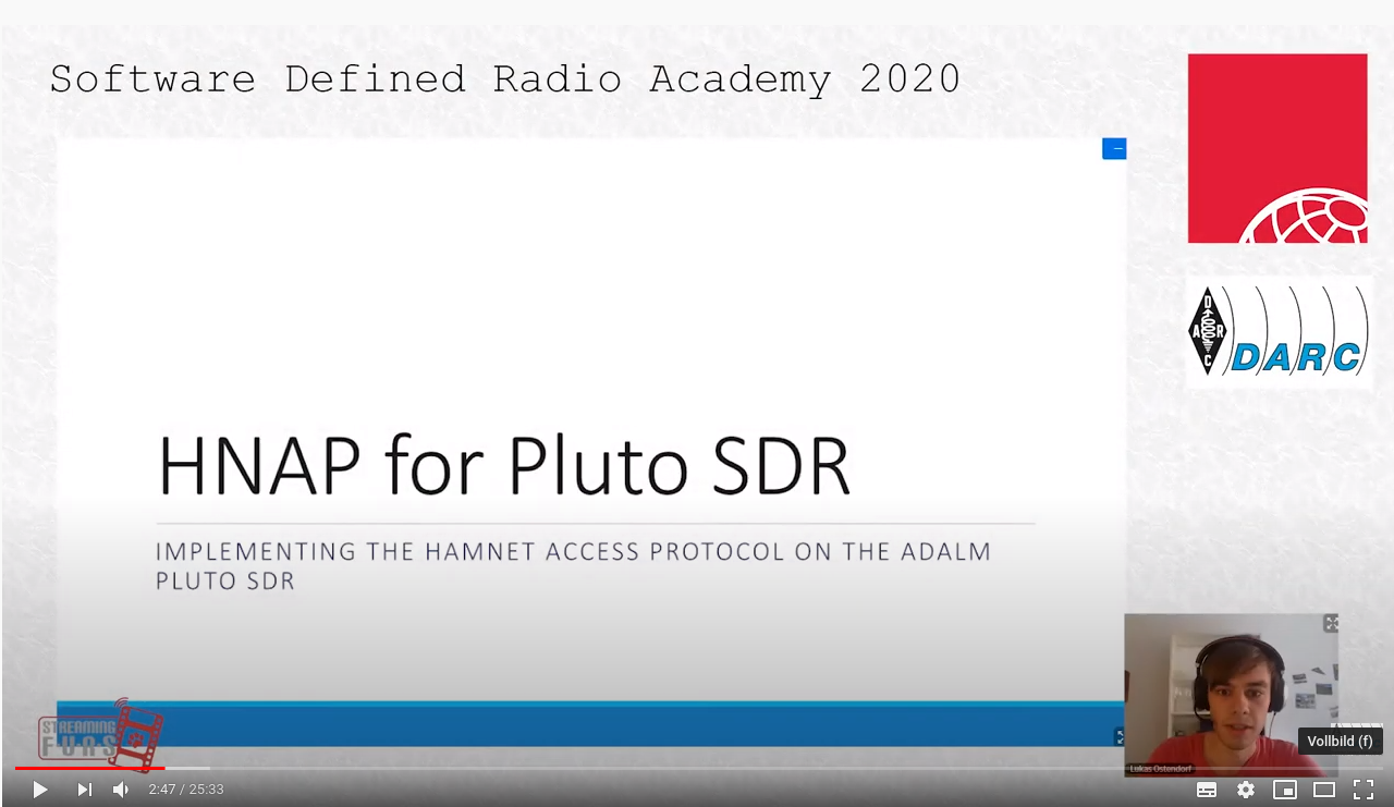 Recording of the HNAP talk at SDRA 2020 now online!